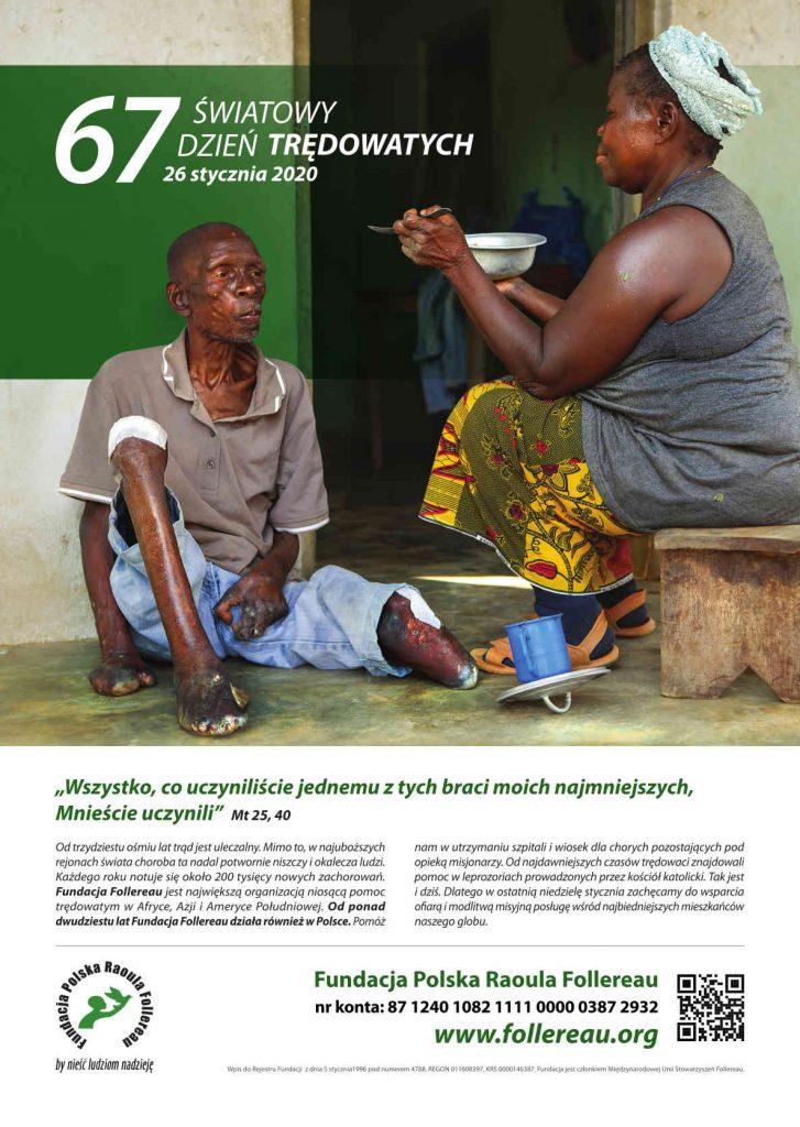 Plakat 67 Światowego Dnia Trędowatych (2020-01-26)