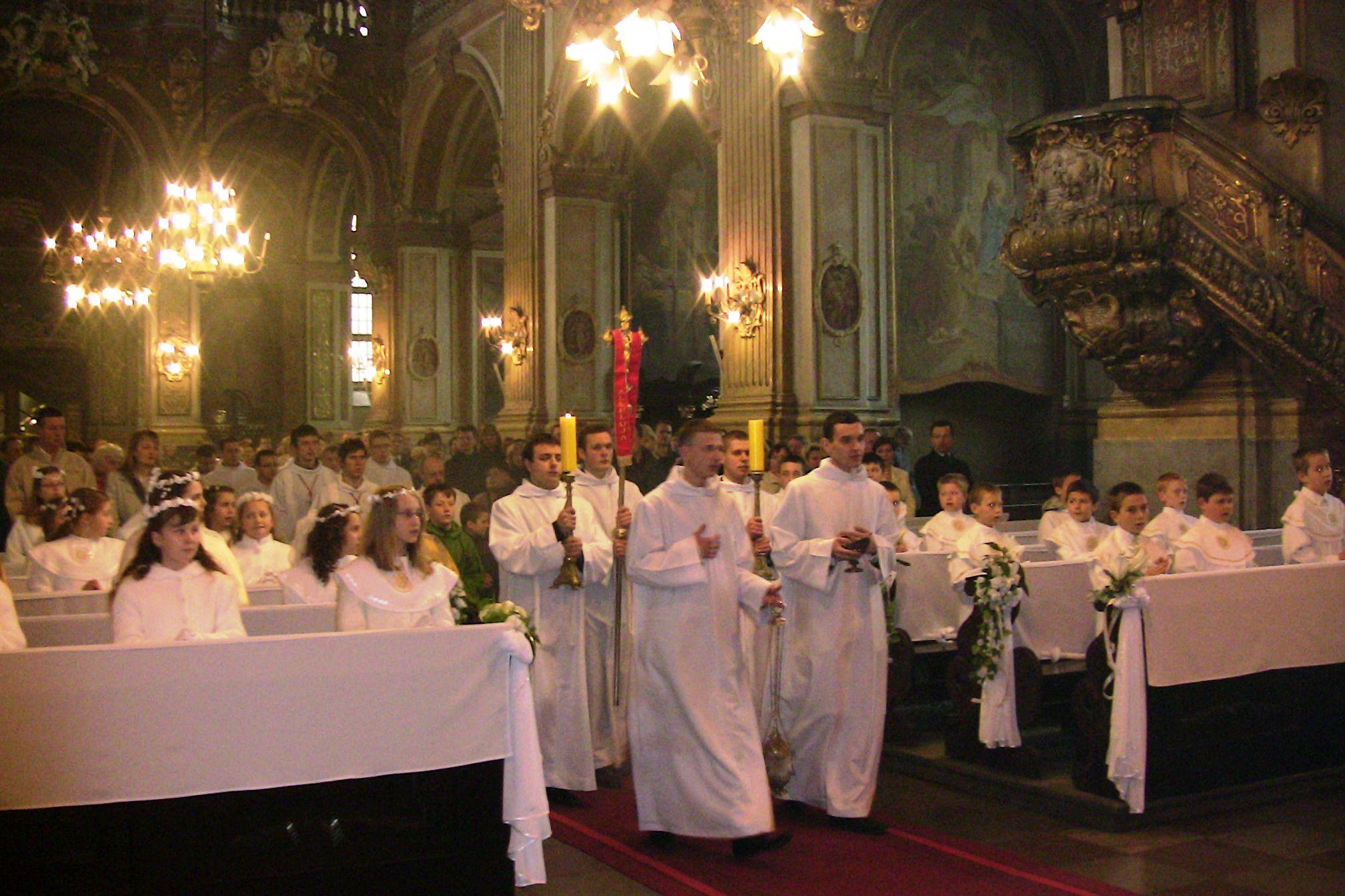 Msza Święta z seminarzystami