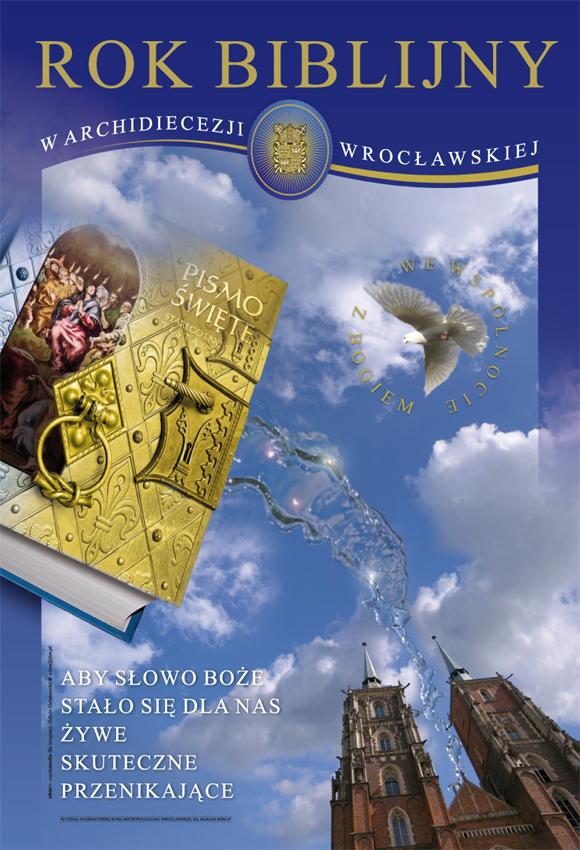 Plakat Roku Biblijnego