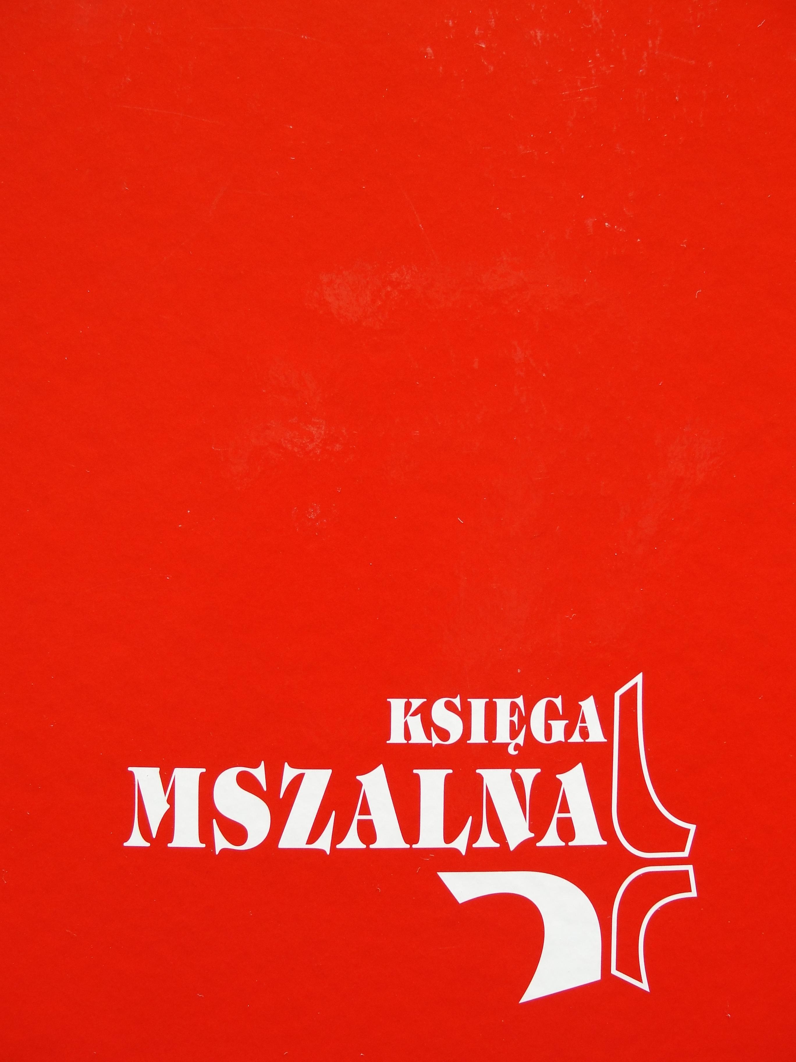 Księga mszalna