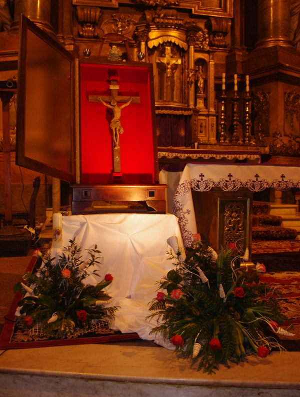 Krzyż bł. Jana Pawła II, fot. Agnieszka Kępowicz