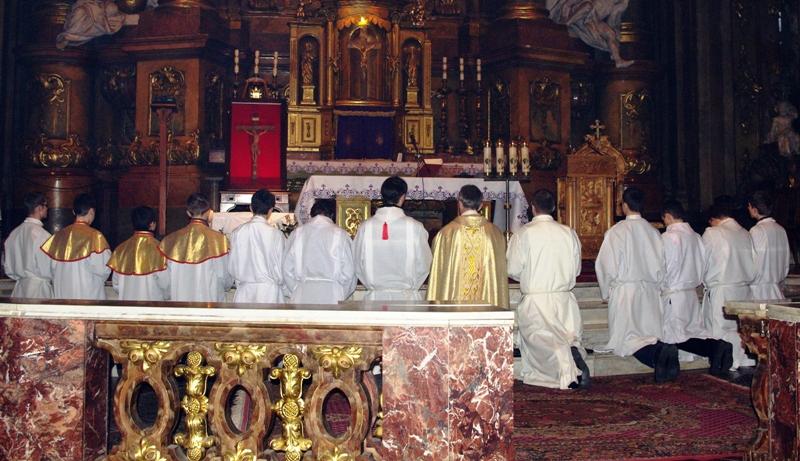Msza Święta w czasie peregrynacji krzyża bł. Jana Pawła II 2, fot. Agnieszka Kępowicz