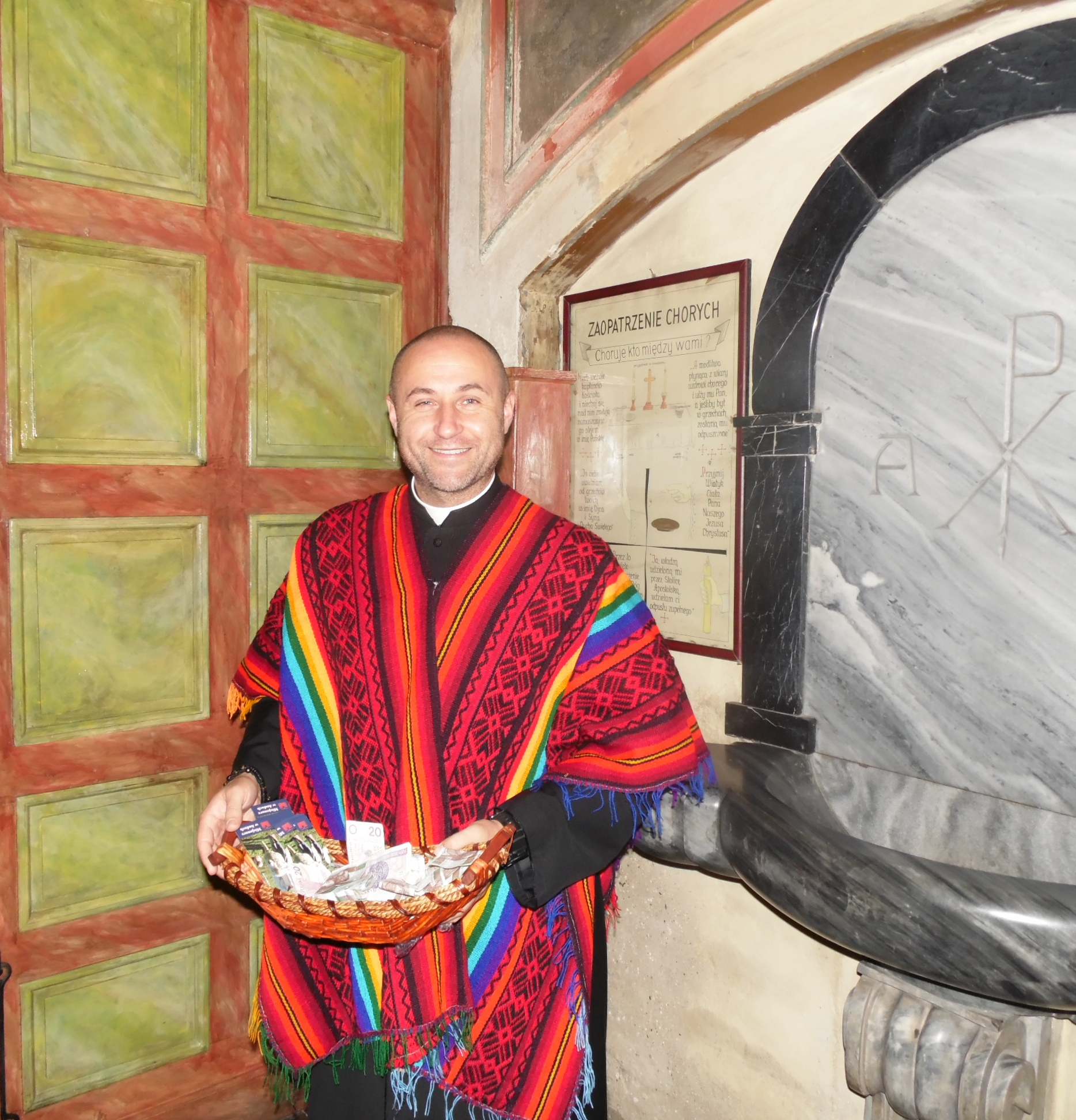Misjonarz ks. Mariusz Dębski 2, fot. Bożena Rojek