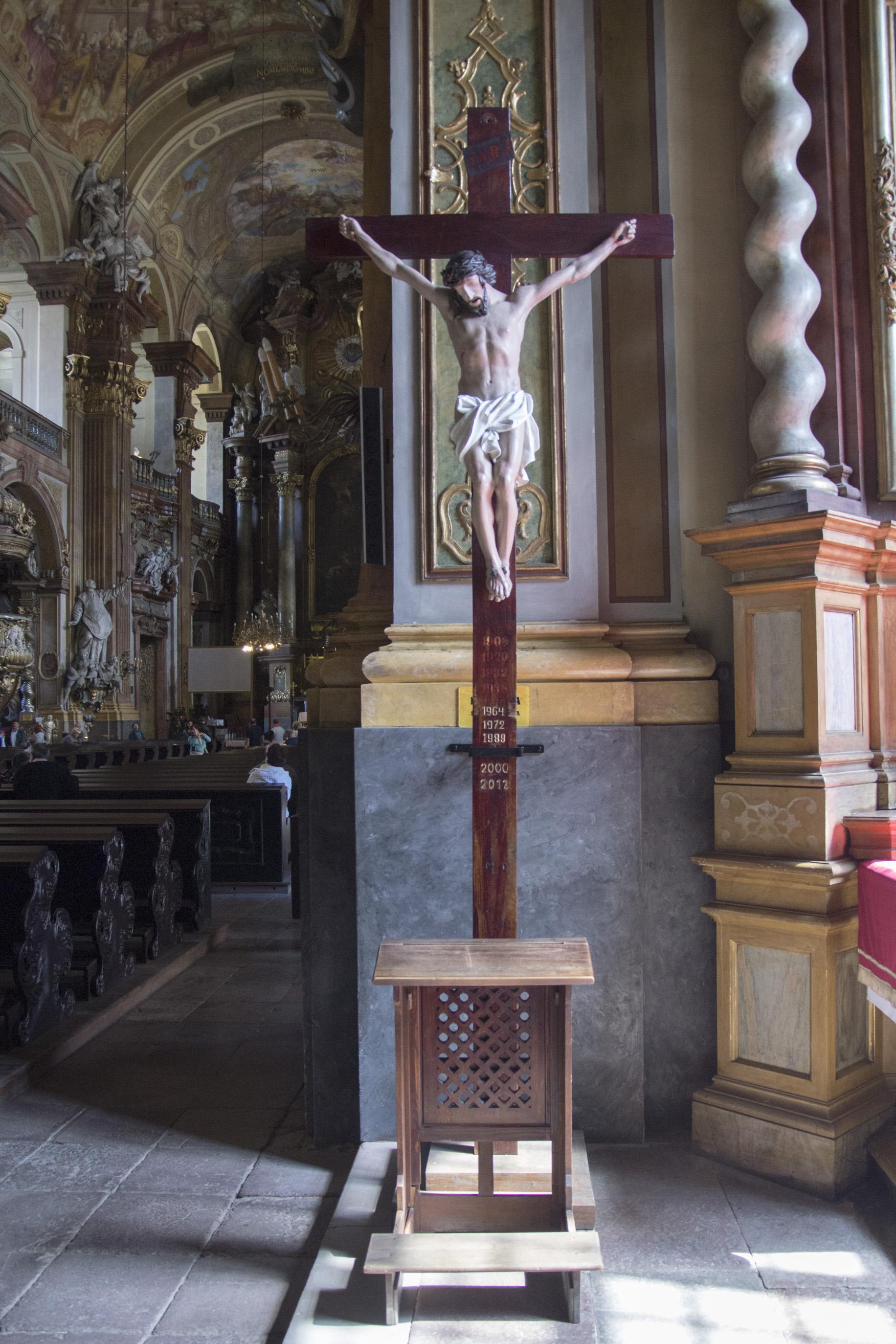 Krzyż misyjny, fot. Leszek Demczyszak