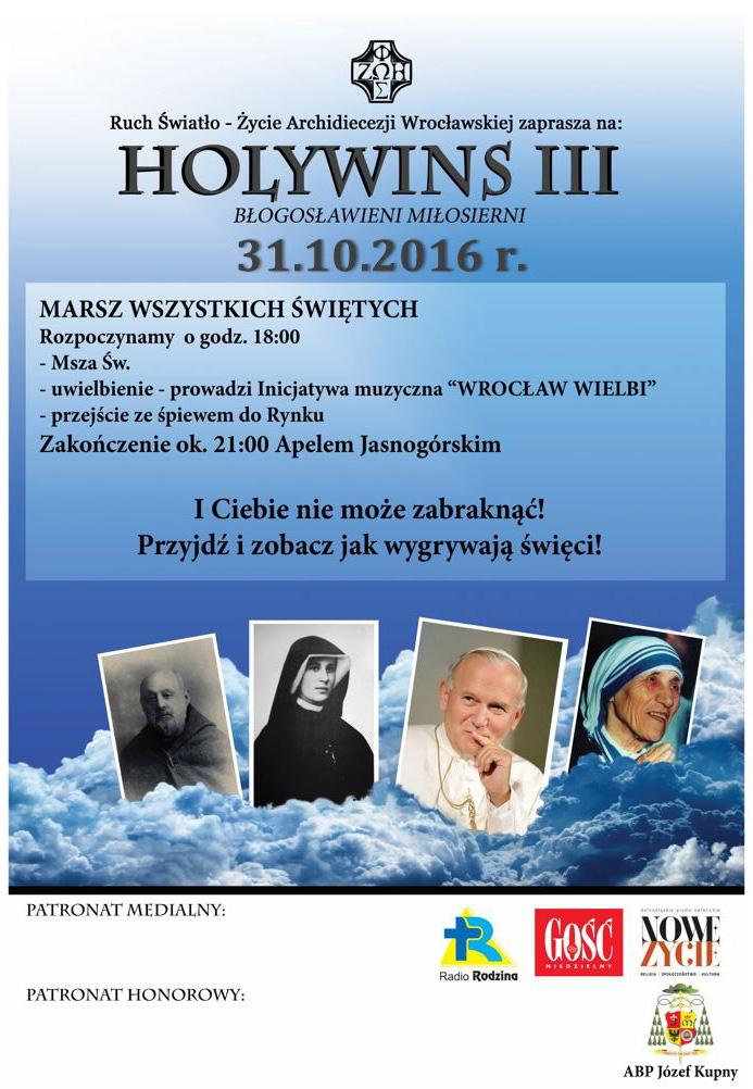 HolyWinsIII, Błogosławieni miłosierni