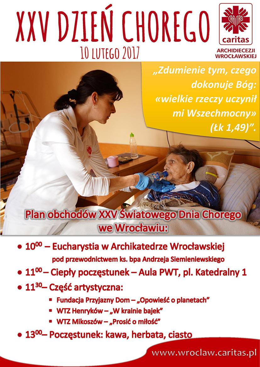 XXVŚwiatowy Dzień Chorego we Wrocławiu